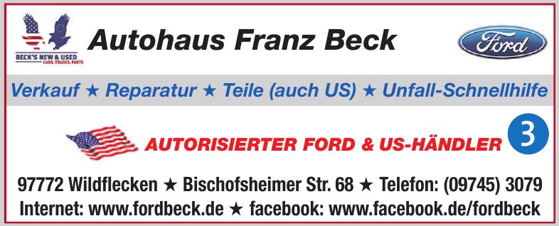 Autohaus Franz Beck