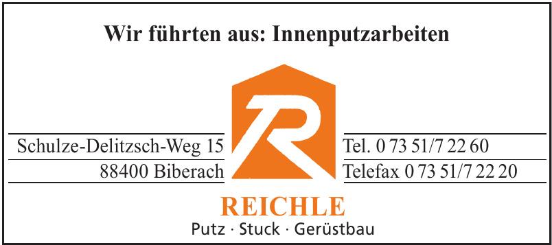 Reichle Putz - Stuck