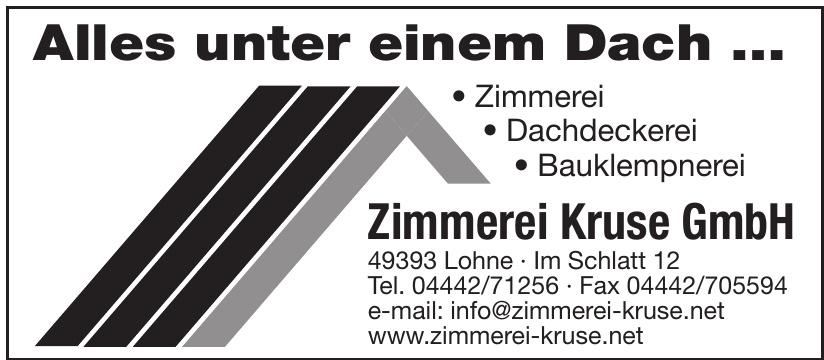 Zimmerei Kruse GmbH