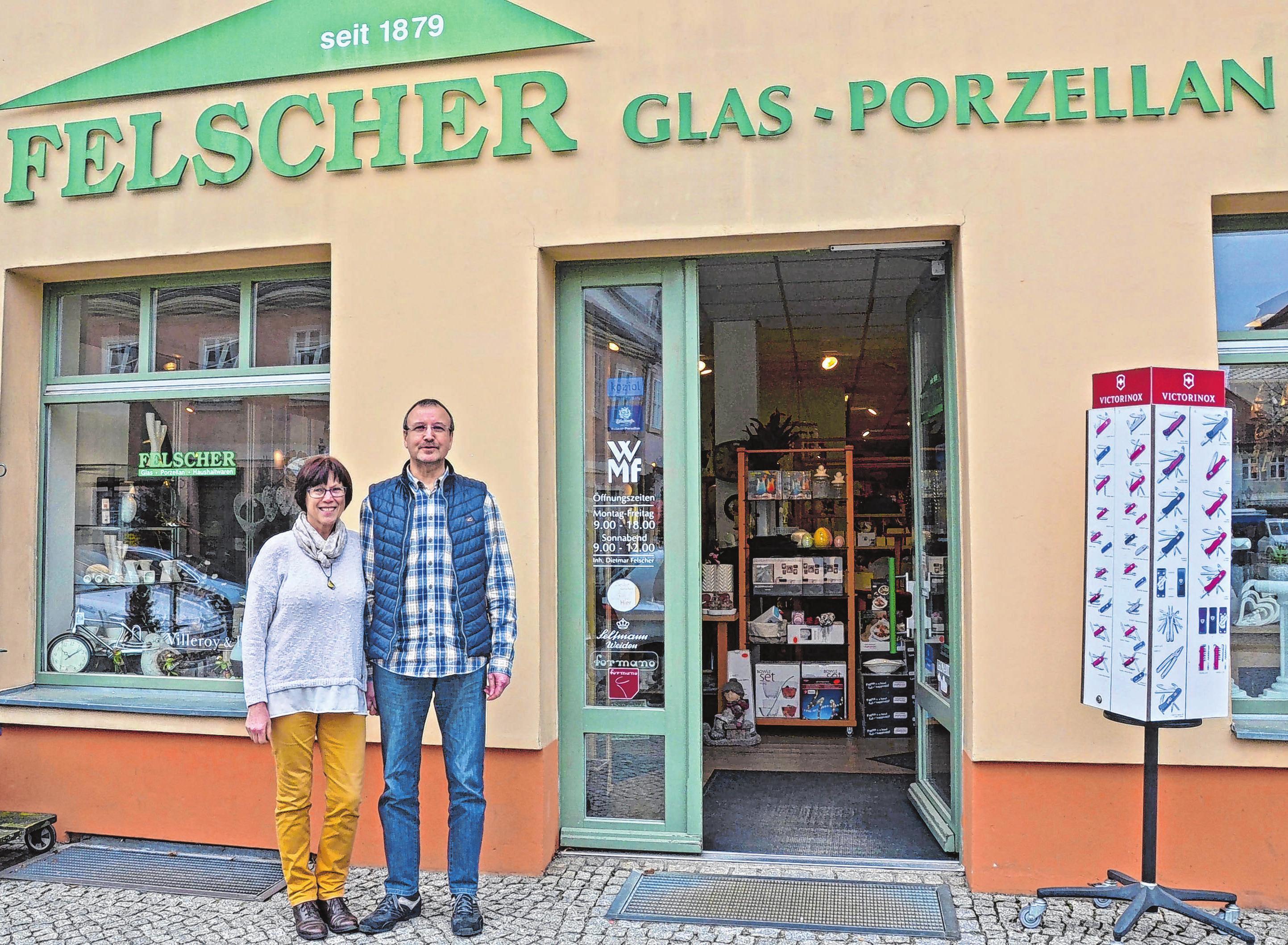 Seit 1998 betreibt Dietmar Felscher auch ein Geschäft in der Lindenallee in Eisenhüttenstadt. Foto: Felscher