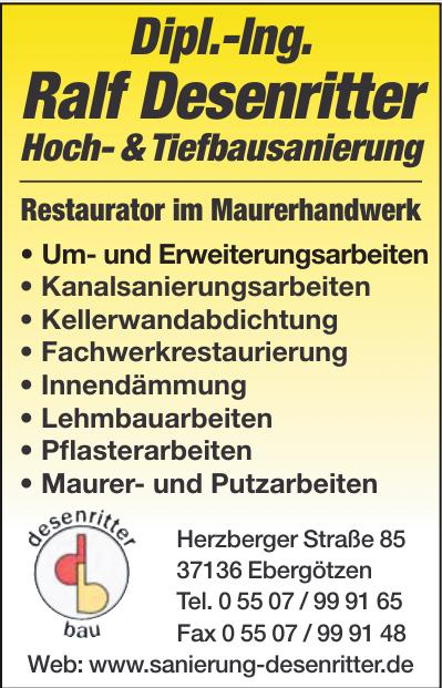 Hoch- & Tiefbausanierung Ralf Desenritten