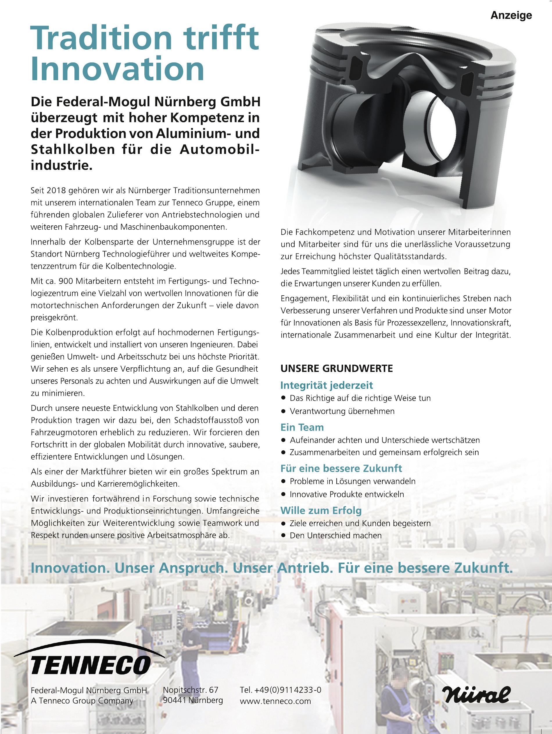 Tenneco Federal-Mogul Nürnberg GmbH