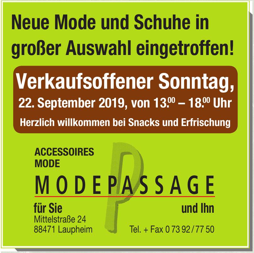 Modepassage