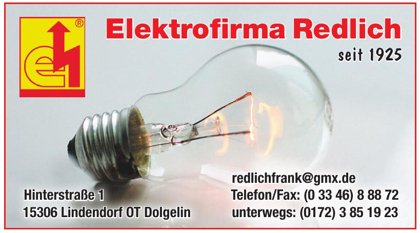 Elektrofirma Redlich