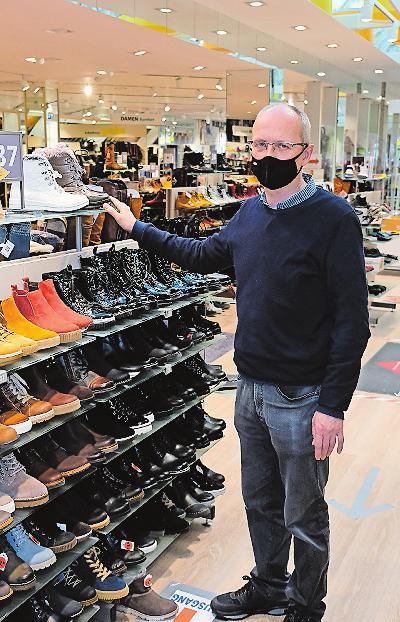 Schuhe für Damen, Herren und Kinder: Schuhaus Grahn. FOTO: TKN