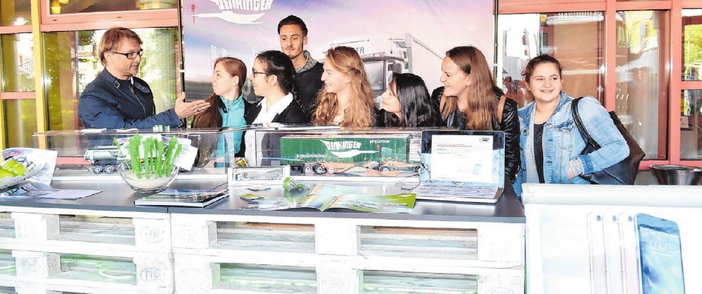 Die Firma Denkinger Logistik mit Sitz in Ehingen und Allmendingen beschäftigt derzeit 20 Auszubildende. Auch für den Ausbildungsstart im September 2019 wird noch interessierter Nachwuchs gesucht.