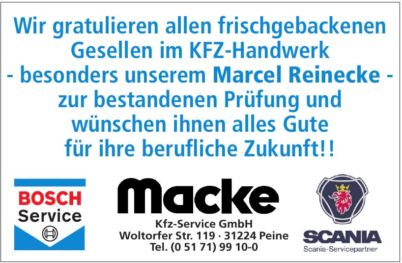 Macke Kfz-Service GmbH