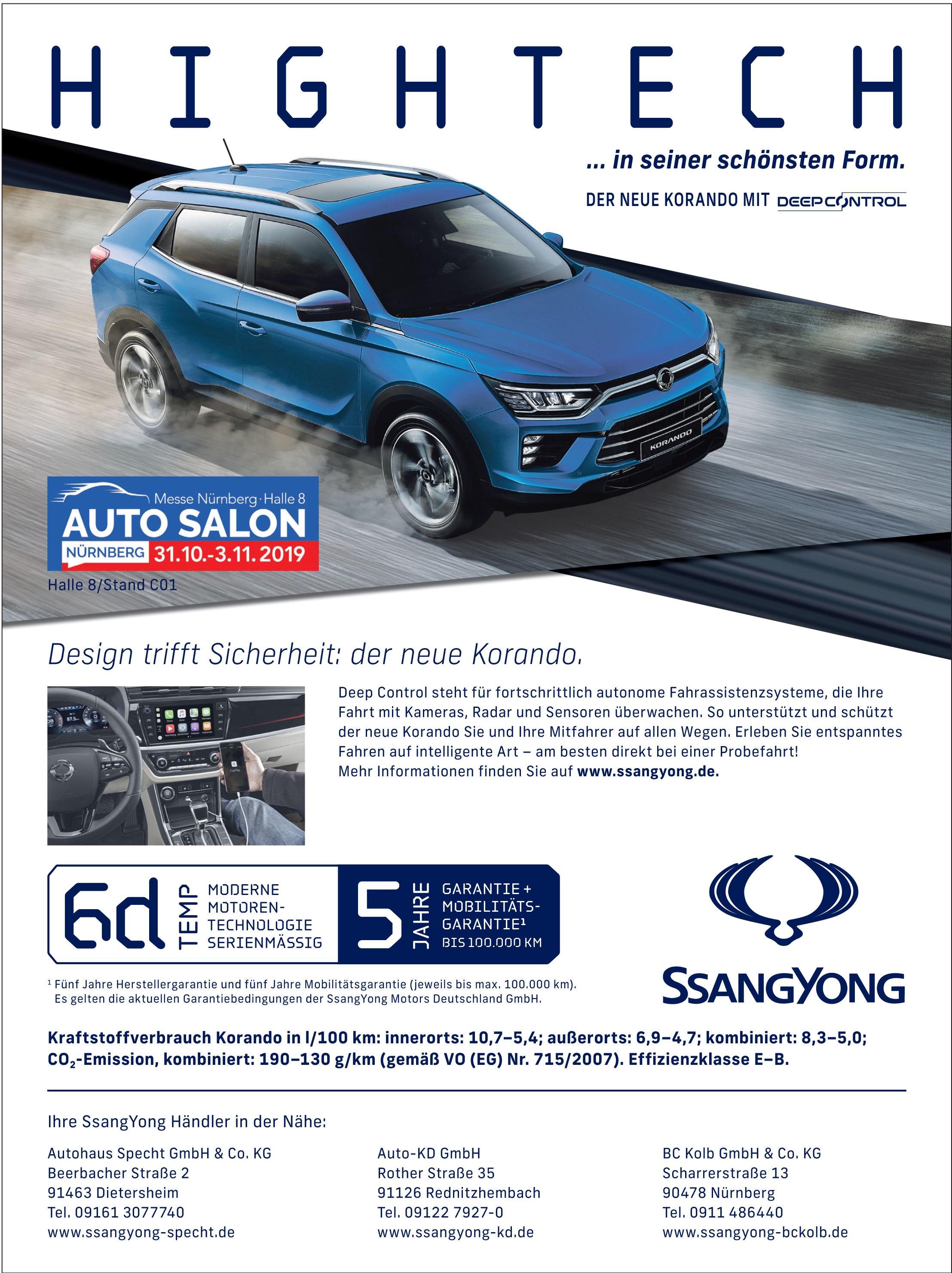 Ssangyong Motors Deutschland GmbH