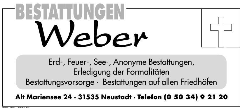 Bestattungen Weber