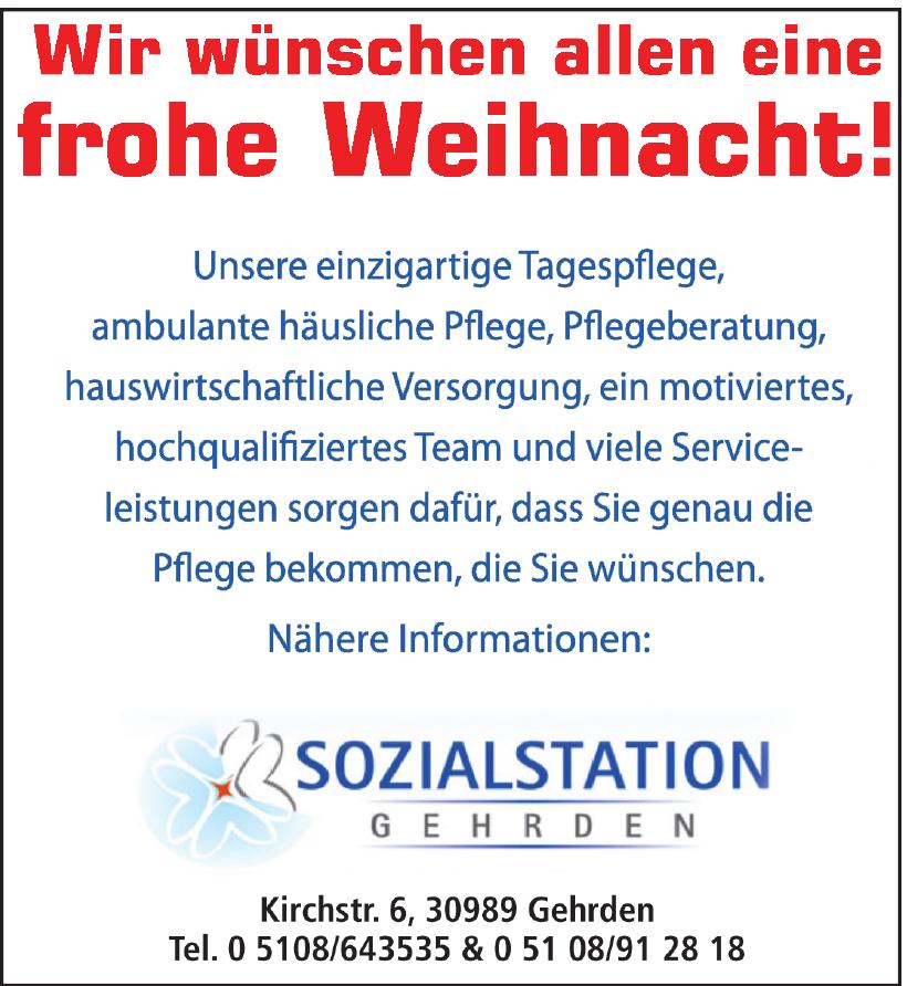Sozialstation Gehrden