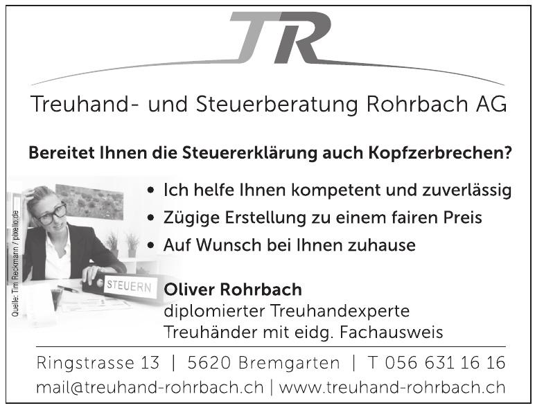 TR Treuhand- und Steuerberatung Rohrbach AG