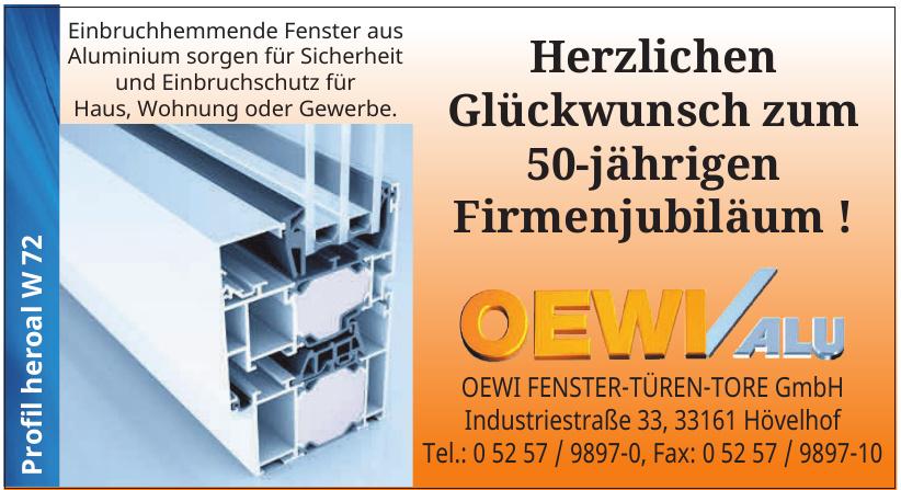 Oewi Fenster-Türen-Tore GmbH
