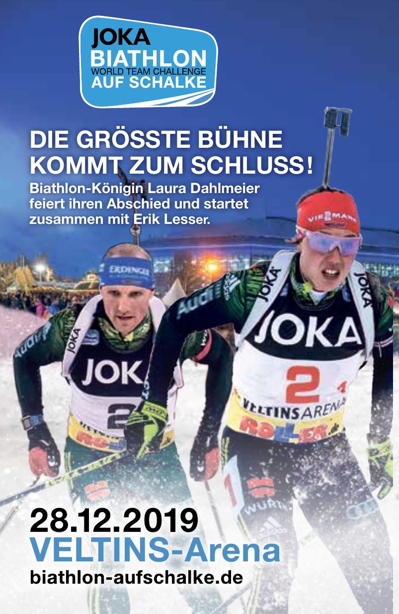 Joka Biatlon auf Schalke
