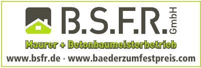 B.S.F.R. GmbH  Meisterbetrieb Maurer & Betonbau Sven Bytomski