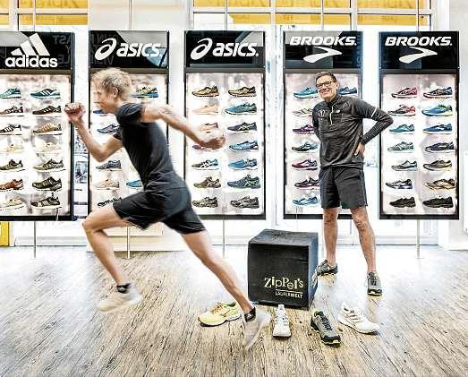 Steht seit über 37 Jahren für den Laufsport in Kiel: Rainer Ziplinsky. FOTO: PEPE LANGE