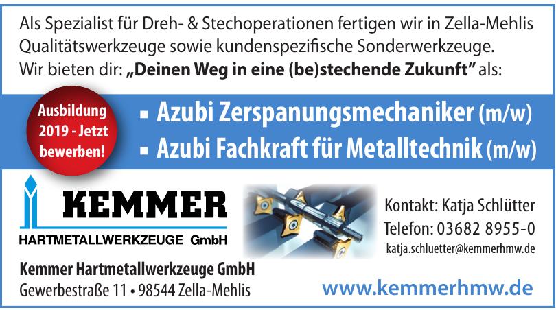Kemmer Hartmetallwerkzeuge GmbH
