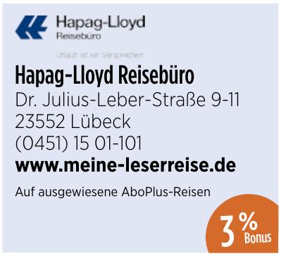 Hapag-Lloyd Reisebüro