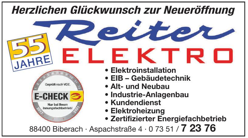 Reiter Elektro