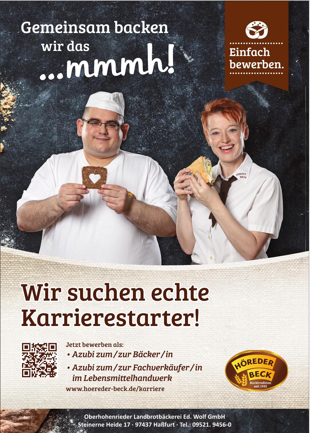Oberhohenrieder Landbrotbäckerei Ed. Wolf GmbH