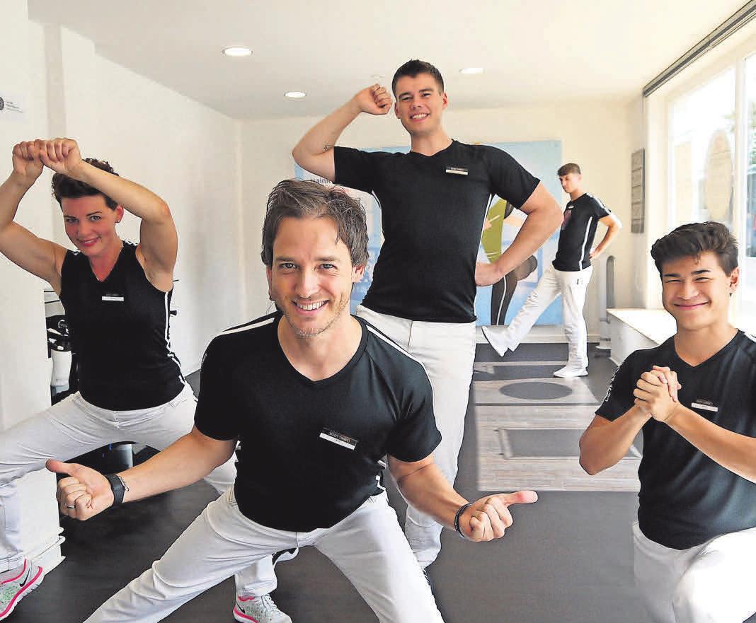 """""""Erfolgreiches Konzept: Inhaber Axel Kienast und sein Team haben schon vielen Trainierenden zu mehr Fitness und Lebensqualität verholfen."""" Foto: Witzig"""