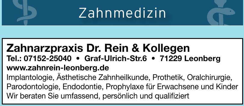 Zahnarzpraxis Dr. Rein & Kollegen