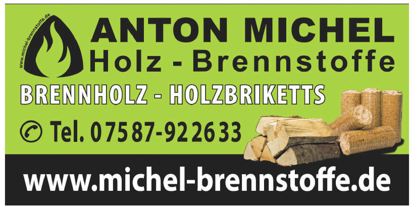 Anton Michel . Holz-Brennstoffe