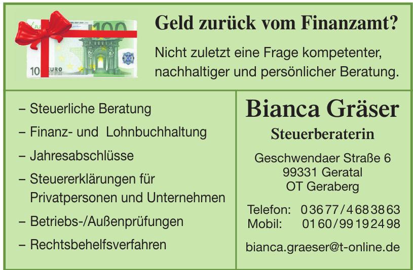 Bianca Gräser Steuerberaterin