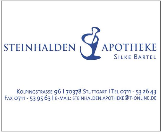Steinhalden Apotheke Silke Bartel