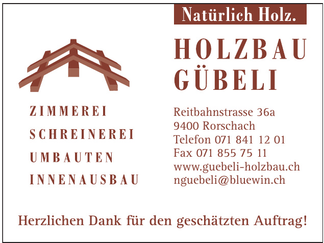 Holzbau Gübeli