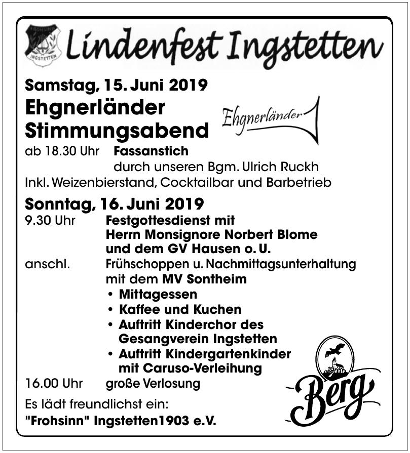 Lindenfest Ingstetten