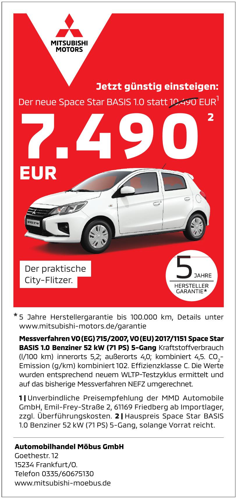 Automobilhandel Möbus GmbH