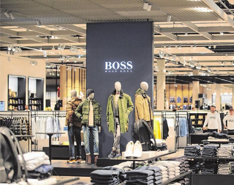 """Willkommen im Boss-Outlet: Im Oktober wird das Projekt beim """"Fashion City Event"""" gefeiert. Foto: Thomas Kiehl"""
