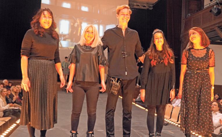 Das Biberacher Modeteam der Innung.