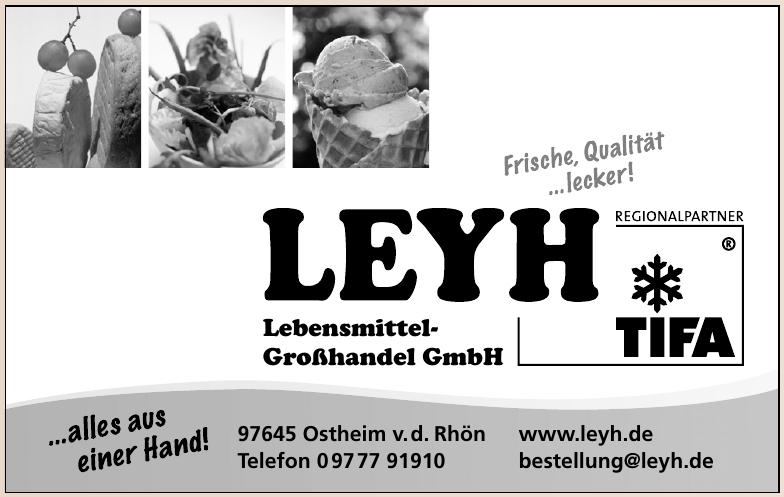 Leyh Lebensmittel-Großhandel GmbH