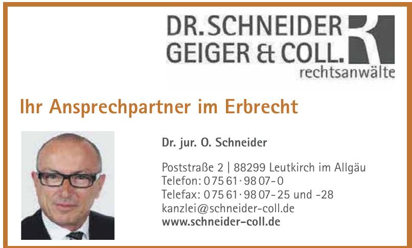 Dr. Schneider Geiger & Coll. Rechtsanwälte