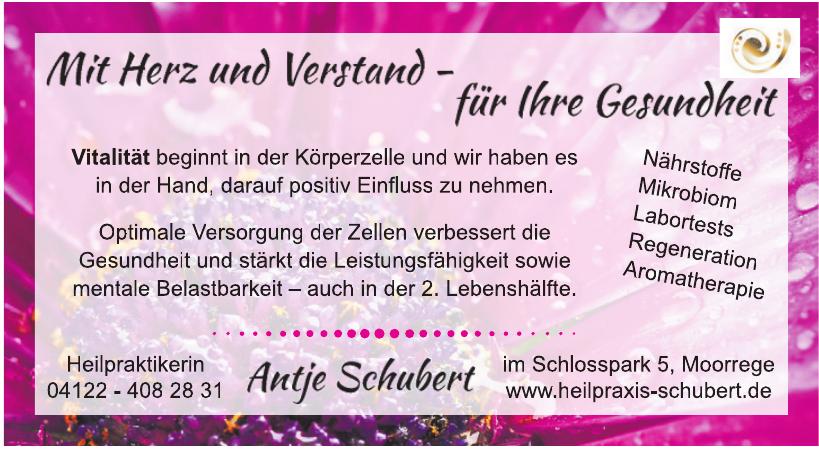 Heilpraktikerin Antje Schubert