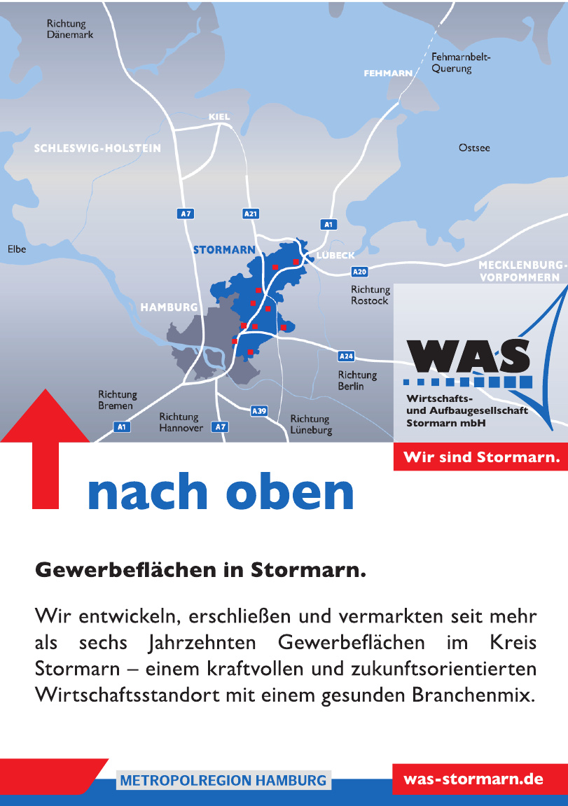 WAS Wirtschafts. und Aufbaugesellschaft Stormarn mbH