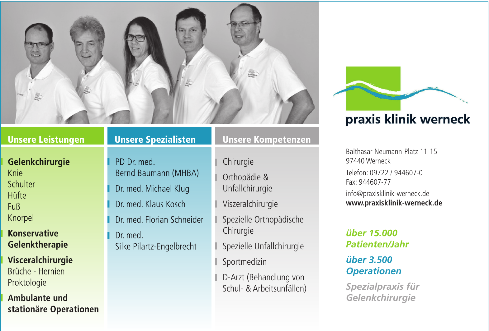 Praxisklinik Werneck