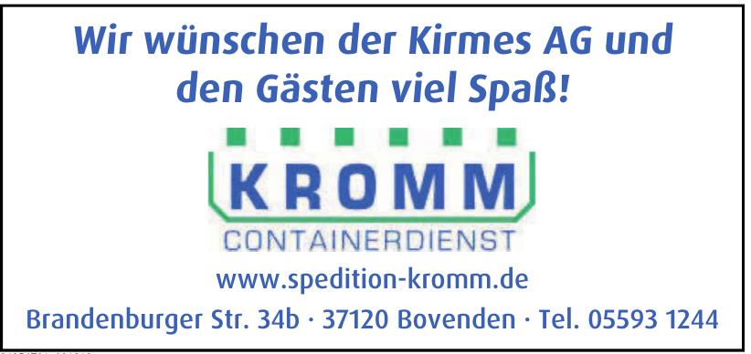 Kromm Containerdienst