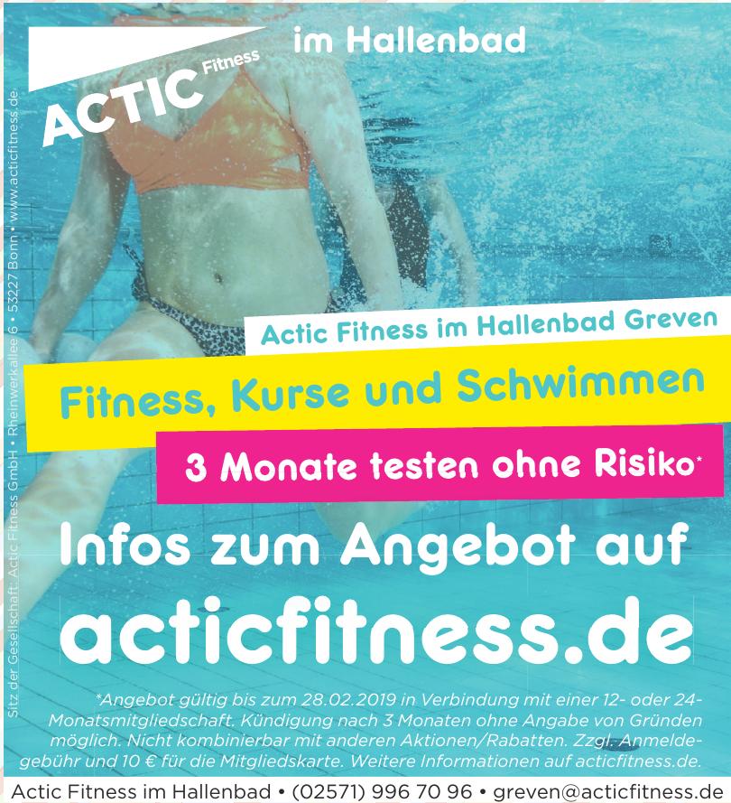 Actic Fitness im Hallenbad