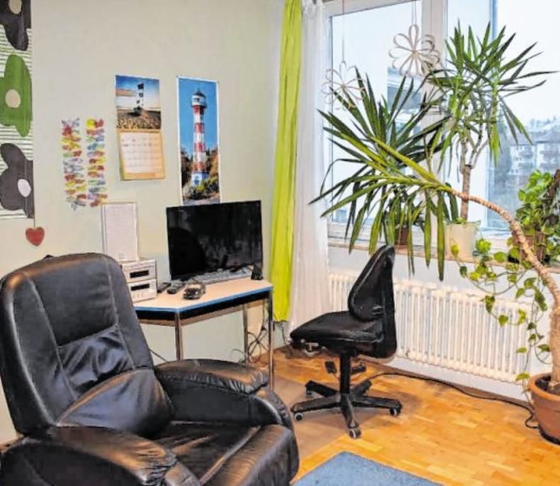 Alle Zimmer sind mit Kabelanschluss ausgestattet. BILD: HAUS AM SONNENBERG/SASCHA BICKEL