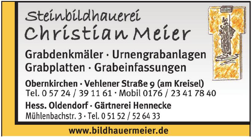 Steinbildhauerei Christian Meier