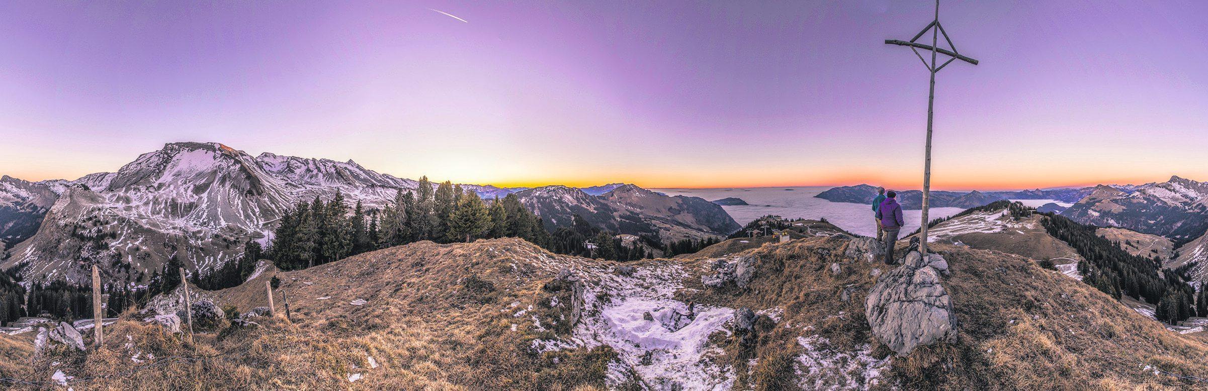 Die goldenen Herbsttage können dank einer Saisonverlängerung der Bergbahnen Beckenried-Emmetten AG noch länger erlebt werden. Bild: Turi Käslin