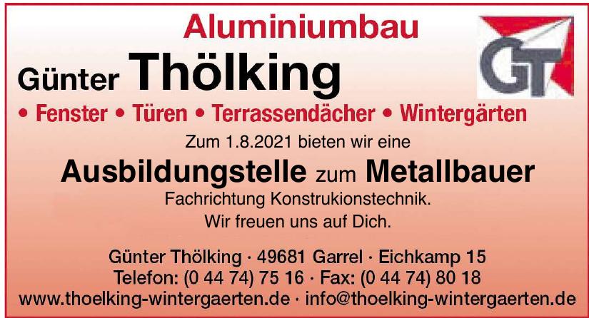 Aluminium Günter Tölking
