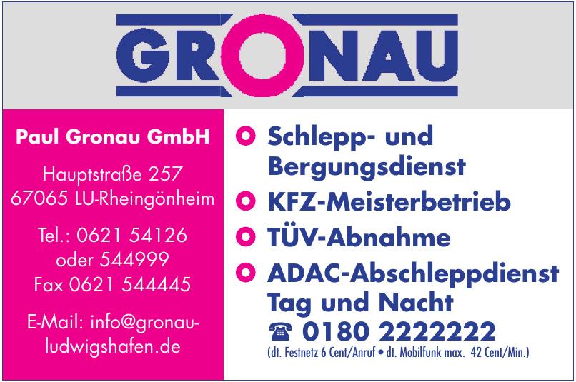 Paul Gronau GmbH