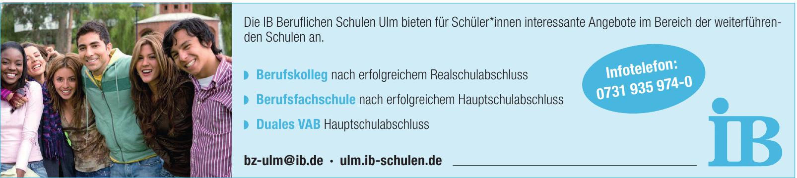 IB Beruflichen Schulen