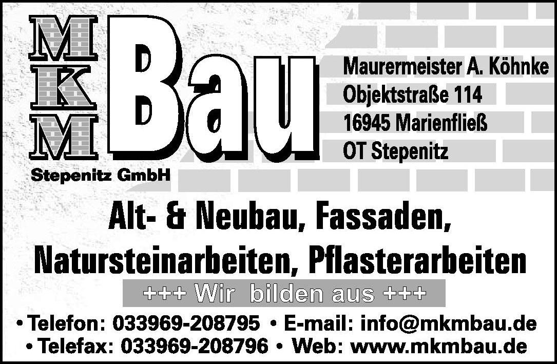 MKM Bau Stepenitz GmbH