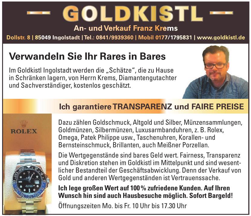 Goldkistl An- u. Verkauf