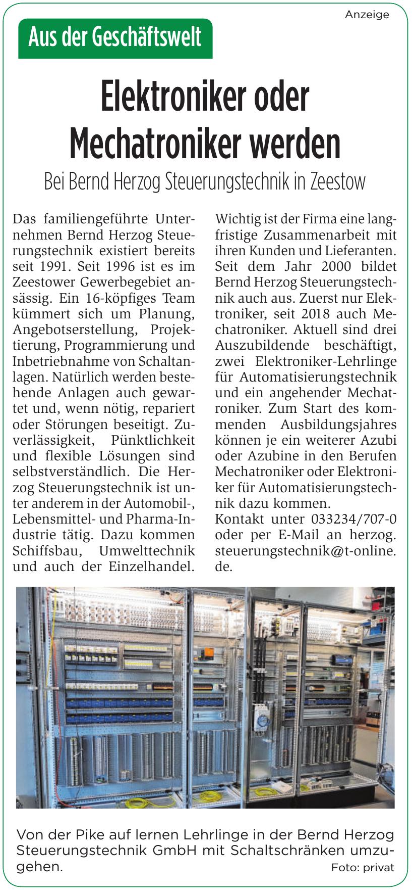 Bernd Herzog Steuerungstechnik GmbH