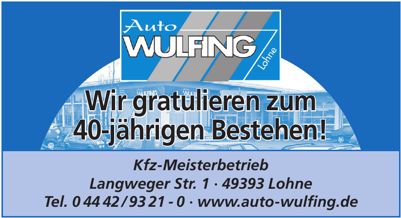 Auto Wulfing